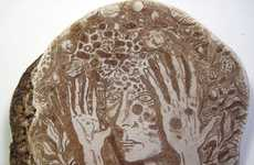 Contemplative Fungi Illustrations