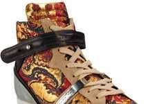 Jacquard Print Kicks