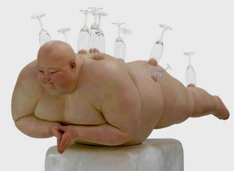 Obese Fleshy Figurines