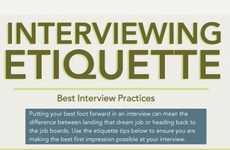 Proper Interview Etiquette Infographics