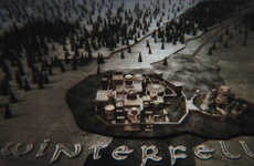 3D-Printed Fantasy Castles