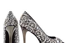 Intricately Studded Stilettos