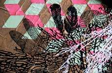 Intricate Paper Graffiti