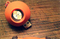 Crude Cartoon USB Keys
