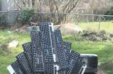 Keyboard-Made Chairs