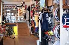 Composite Biker Coffee Shops