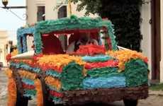 Pinata Car Crash Commercials