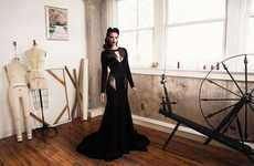 Glam Vintage-Inspired Gowns
