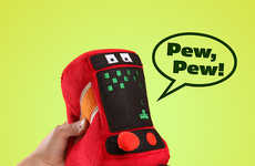 Retro Arcade Plush Toys