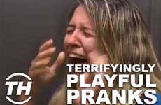 Terrifyingly Playful Pranks