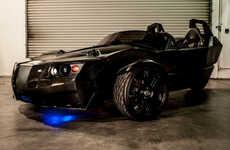 Sleek Speedy Electric Trikes