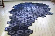 Repurposed Sweater Rugs