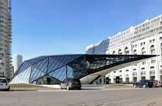 Futuristic Gas Stations