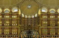 Symmetrical Library Hyperphotos