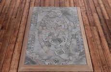 Intricate Cement Carpets