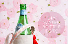 DIY Water Bottle Totes