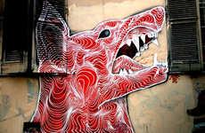 Spellbindingly Spiraled Street Art