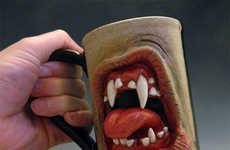 Grotesque Growling Coffee Mugs