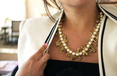 DIY Office Accessory Necklaces