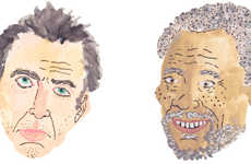 Illustrated Celeb Portraits