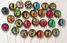 Realistic Designer Lollipops