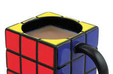Iconic Cube Coffee Mugs