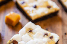 Cookie-Infused Campfire Squares