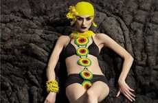 Futuristic Beach-Side Editorials