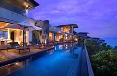 Pool-Bordered Penthouse Suites