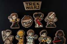Sci-Fi Mashup Cookies
