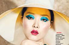 Eccentric Azure Eyeshadows