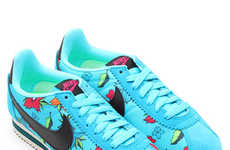 Tropical Floral Footwear