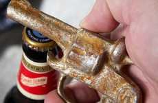 Vintage Revolver Bottle Openers