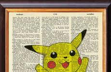 Dictionary Canvas Art