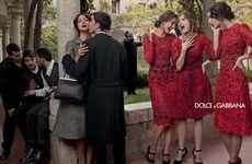 Drama-Filled Fashion Ads