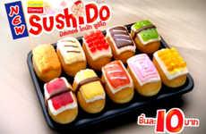 Sushi-Shaped Donuts