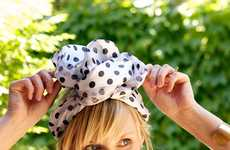 Upcycled Scarf Headbands