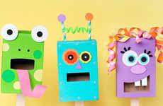 DIY Paper Box Puppets