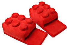 LEGO-Like Slippers