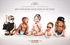 Photoshopped Celebrity Baby Ads