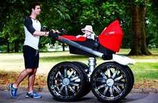 Macho Car-Inspired Strollers