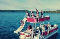 Funhouse-Like Aquatic Vessels