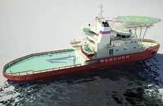 Sideways Sailing Ships