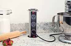 Disappearing Electrical Outlets