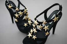 DIY Star-Accented Heels