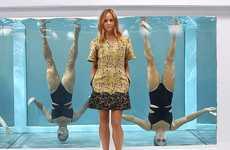 Synchronized Swimwear Stunts