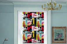 Flamboyant Pop Art Blinds