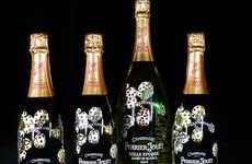 Charitable Bling Champagne Bottles