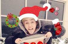 Celebrity Exposed Holiday Cards