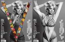Disrobing Magazine Covers